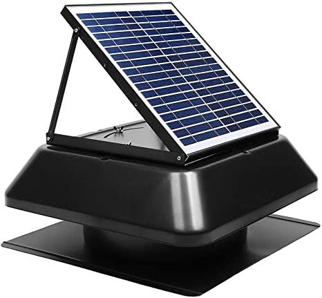 GBGS Solar Attic Fan Surface Mount 1750 CFM