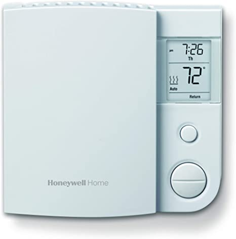Honeywell Home RLV4305A1000/E1 Electric Baseboard Heaters Rlv4305A1000/E 5-2 Day Programmable Thermostat