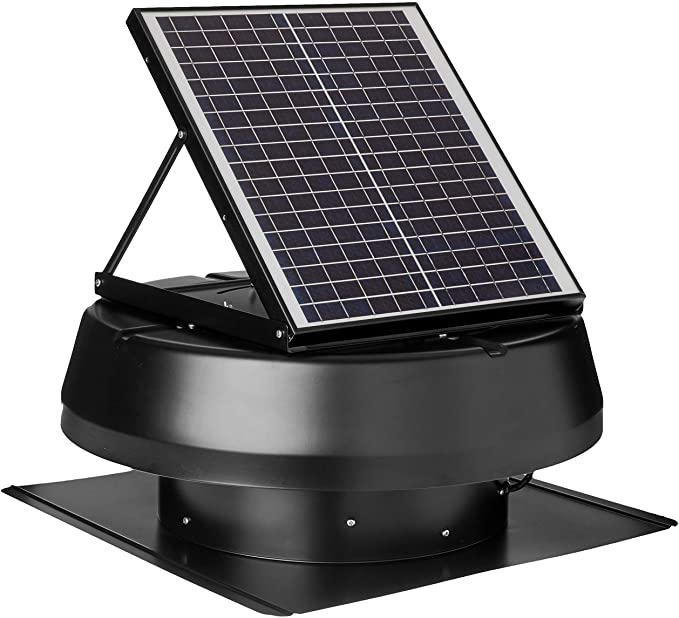 iLIVING HYBRID Ready Smart Thermostat Solar Roof Attic Exhaust Fan