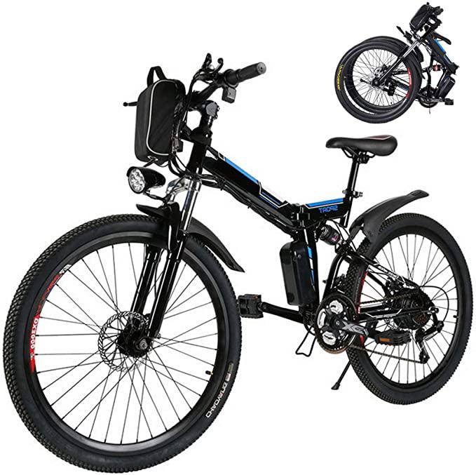 26 inch Folding Electric Mountain Bike