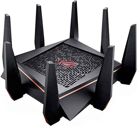 ASUS ROG Rapture WiFi Gaming Router (GT-AC5300) - Tri Band Gigabit Wireless Router