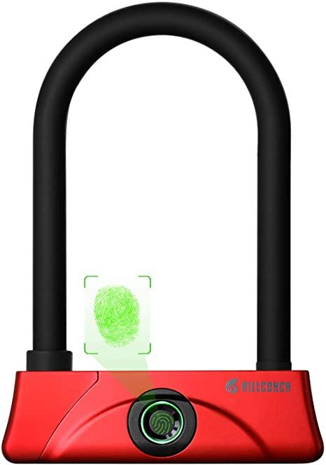 Billconch Fingerprint U Bike Lock