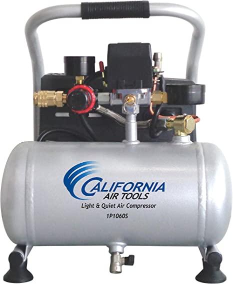 California Air Tools CAT-1P1060S Light & Quiet Portable Air Compressor