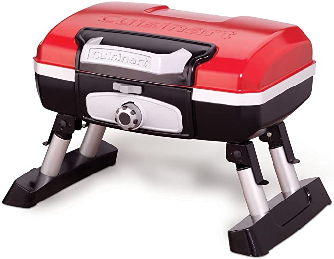 Cuisinart CGG-180T Petit Gourmet Portable Tabletop Propane Gas Grill