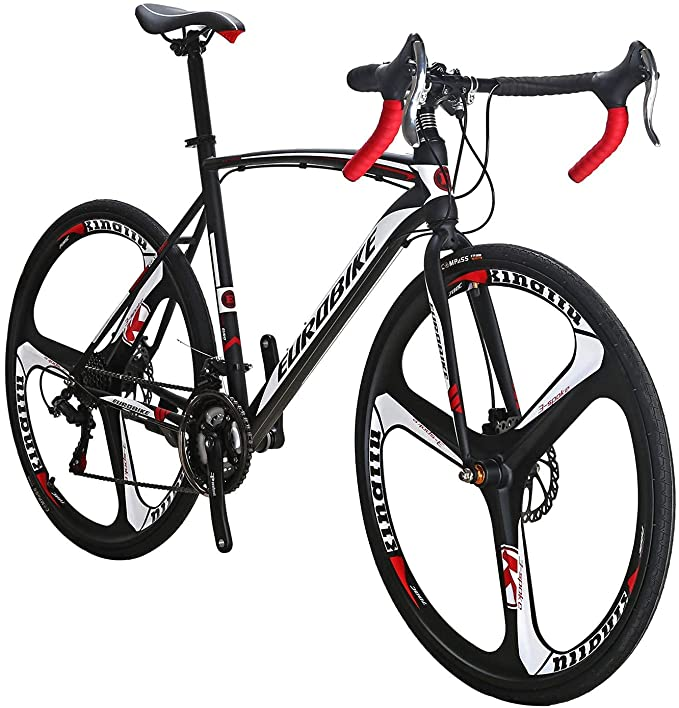 Eurobike 21 Speed Shifting System Road Bike 49/54/56 cm Frame 700C Wheel Adult Road Bicycle