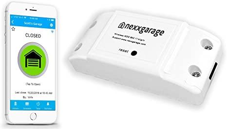NEXX Garage NXG-100 NXG Remote Compatible Door Openers - Control Using Smart Phone