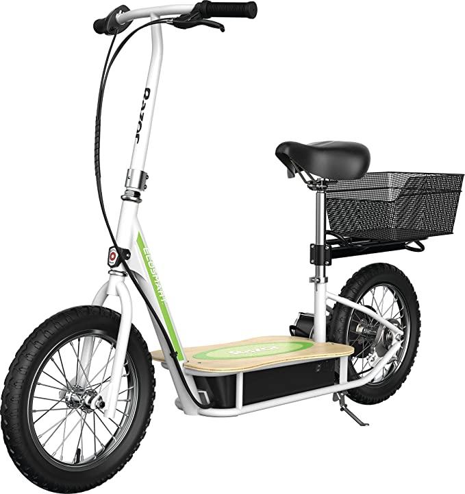 Razor EcoSmart Metro Electric Scooter – Padded Seat