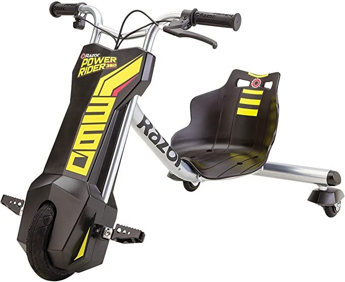 Razor Power Rider 360 Electric Tricycle Black