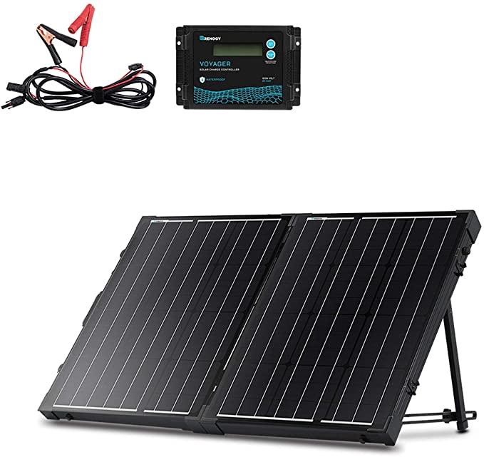 Renogy 100 Watt 12 Volt Monocrystalline Off Grid Portable Foldable