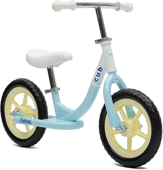 Retrospec Cub Kids Balance Bike No Pedal Bicycle - Beginner Toddler Bike - Steel Frame & Air-Free Tires - Girls & Boys 2-5 Years