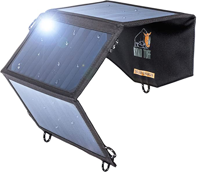 Ryno-Tuff Portable Solar Charger for Camping