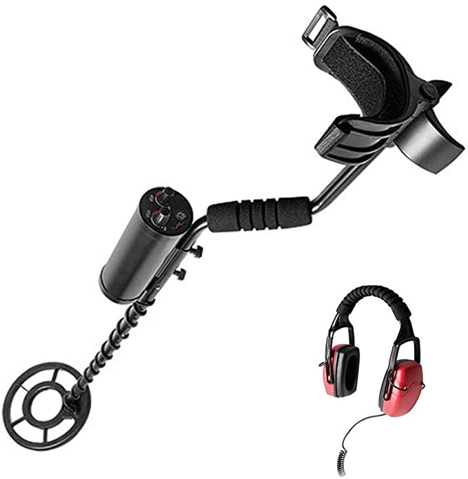 SuperEye 40 Meters Underwater Metal Detector for Adults with 8.6 Inches Waterproof Coil and Headphone
