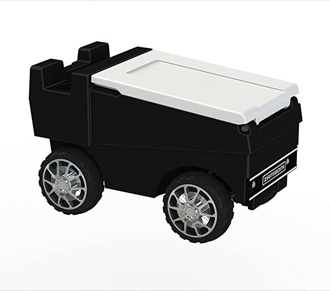 Zamboni RC Motorized Cooler   Black