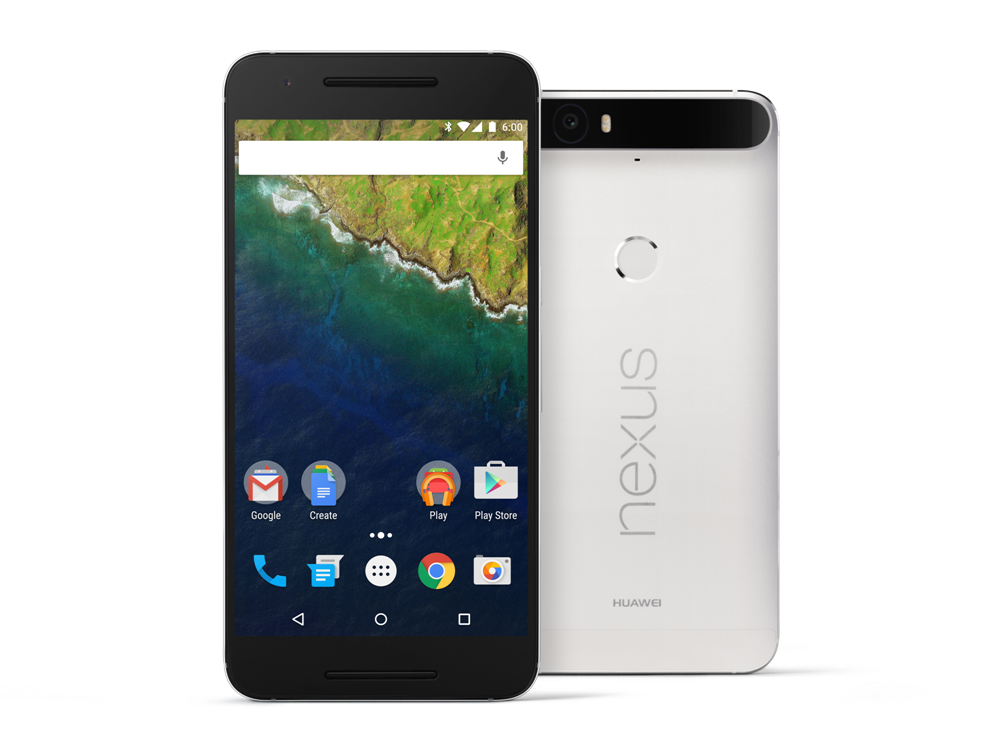 Nexus 6P-Frost-Front and Back