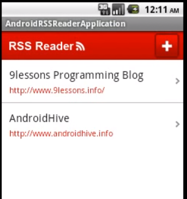 Android_RSS